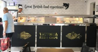 Victoria Fish and Chips Take away restaurant in Bognor Regis
