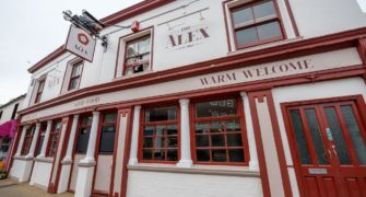 The Alex pub in Bognor Regis, West Sussex